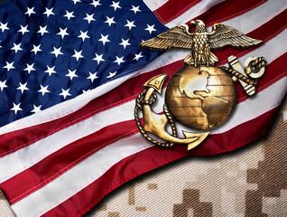 Marine Eagle, Globe and Anchor.
