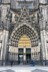 Fototapete - View of Cologne Cathedral