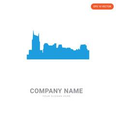 free nashville skyline company logo design