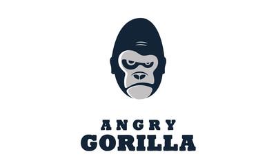 Angry Gorilla / Monkey illustration