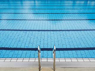 Swimming Pool Stairs Water sport summer background