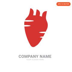 Human Heart company logo design