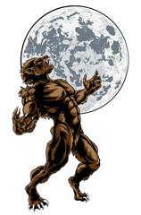 Wolf Man Werewolf Scary Horror Monster