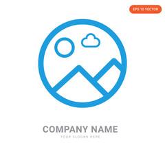Picture company logo design