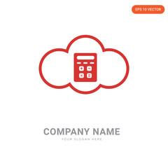 Calculator company logo design