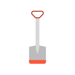 hoe flat icon vector