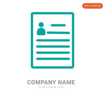 Curriculum company logo design