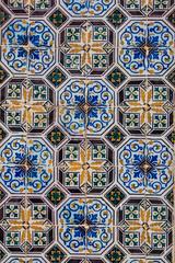 Typisches Historisches Mosaik In Portugal