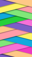 Color background in the form of a chevron. Suitable for the background on the phone