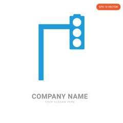 Traffic light company logo design