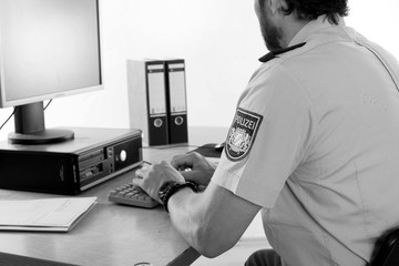 Polizei Alltag - Dienststelle