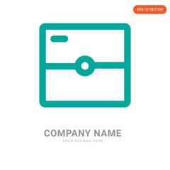 Photo camera company logo design