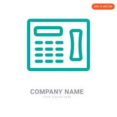 Fax company logo design