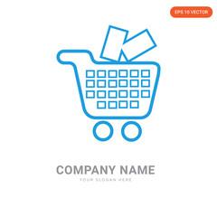 Shopping company logo design