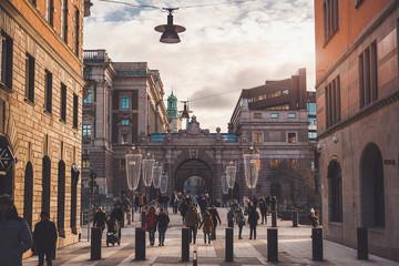 Стокгольм городской вид