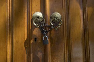 Brass Gate With Door Knocker