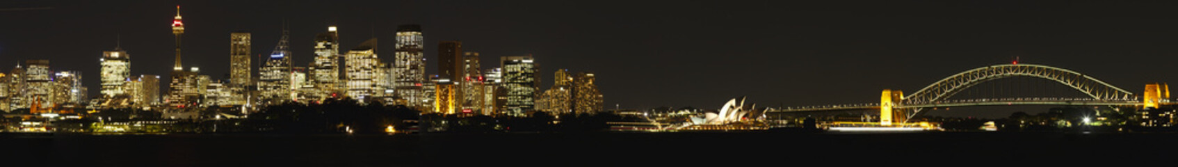 Panorama view of Sydney