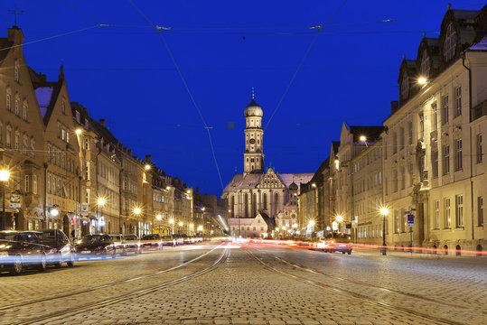 Augsburg  Perlachturm