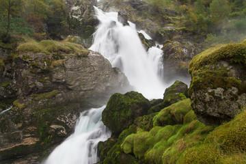 Briksdal Falls