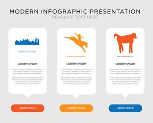 baboon, bucking horse, detroit sky infographic