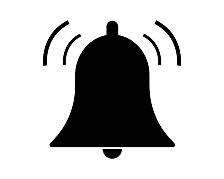 Bell pictogram vector icon