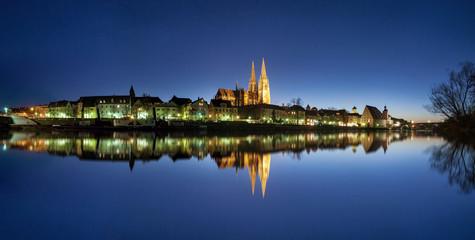 Regensburg am Donauufer