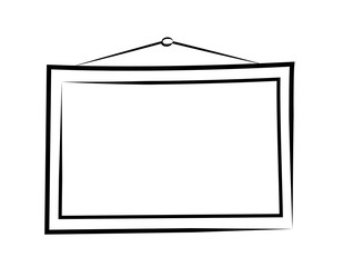picture frame outline