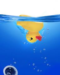 Rubber Ducky Upside Down.