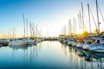 Puerto Deportivo de Benalmadena, Costa del Sol Occidental, Malaga, Andalusia, Spain, Iberian Peninsula