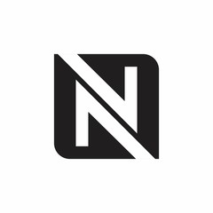 N letter logo design for company, idea, and trendy