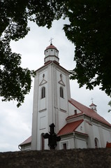 St Laurynas Church is a sacral and architectural monument in Videniškiai, Lithuania