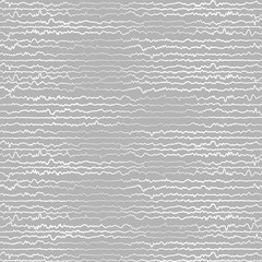 Abstract White and grey Random chaotic lines textures. Grunge overlay texture zig-zag random lines with copy space. Vector illustration