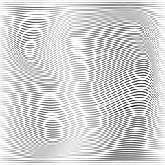 Abstract White and grey Random chaotic curve lines textures. Grunge overlay texture waves random lines with copy space. Vector illustration