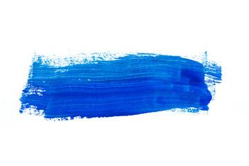blau wasserfarben muster Pinselstrich Fototapete