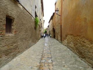 Peratallada, pueblo del Emporda  en Girona, Costa Brava (Cataluña,España).