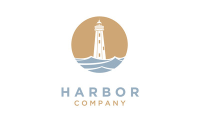 Lighthouse / Searchlight logo design inspiration