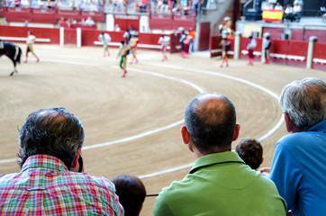 spectators in corrida de toros