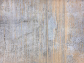 Rich concrete background texture. Raw gray concrete texture with rust stripes, customizable, suitable for background use.