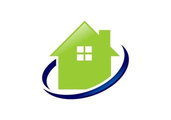 Home solution logo vector