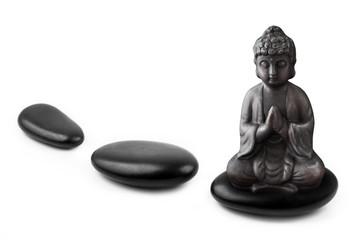Hot stones  -  Wellness  -  Buddha