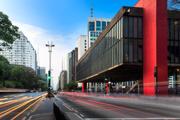 Paulista Avenue in Sao Paulo - Brazil