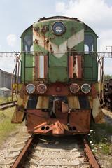 Pripyat; Chernobyl; Ukraina; train; steam train; locomotive; railway; transport