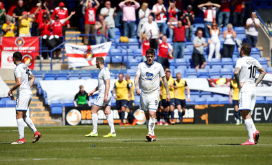 National League Play-Off Semi Final - Tranmere Rovers vs Ebbsfleet United