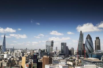 Photo sur Plexiglas Londres london skyline in summer