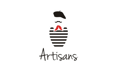 France Painter logo design inspiration