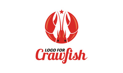 Crawfish / Prawn / Shrimp / Lobster Seafood logo design inspiration
