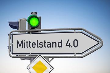 Wegweiser Mittelstand 4.0, Signal auf Grün