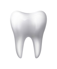 Isolated Human Tooth