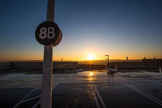 Sunrise at 8b no 2 - Winter Sun