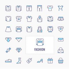 Fashion Minimal Icon Set